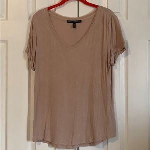 WHBM size M shimmer tee shirt